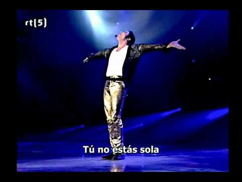 Michael Jackson - You are not alone Live HD (Subtitulado español) HQ