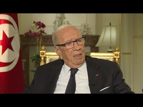 السبسي: أتعامل مع حزب النهضة لأننا في بلد ديمقراطي يحترم إرادة مواطنيه  - نشر قبل 2 ساعة