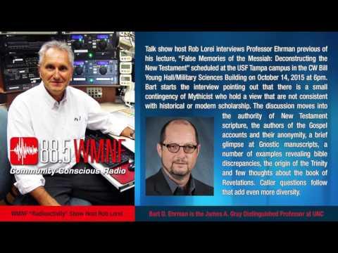 Bart Ehrman Interviewed on Radioactivity