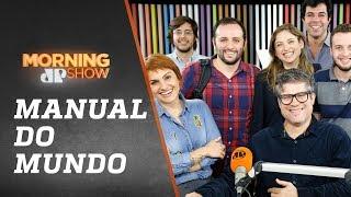 Manual do Mundo (Iberê e Mariana) - Morning Show - 16/07/18
