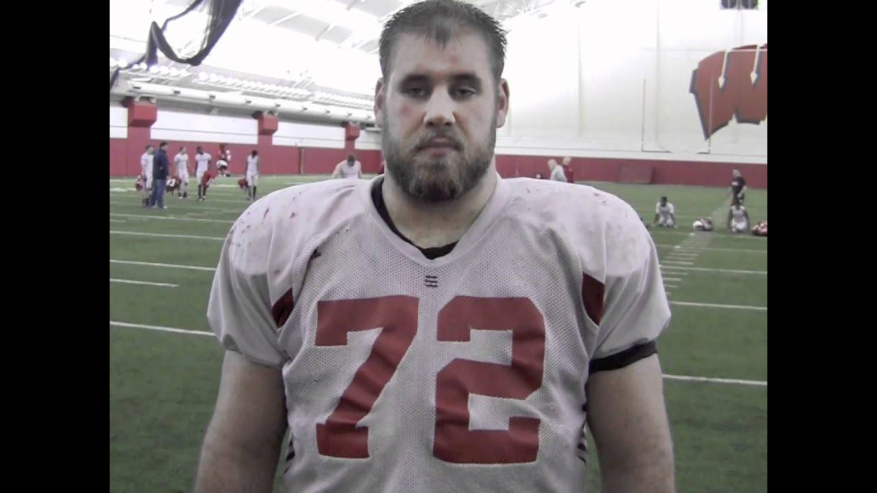 Wisconsin Badger Travis Frederick Interview