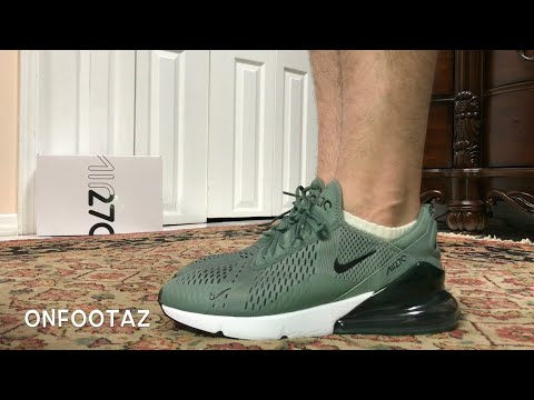 425bced719 Nike Air Max 270 Clay Green On Foot - YouTube