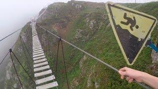 suspension bridge/подвесной мост