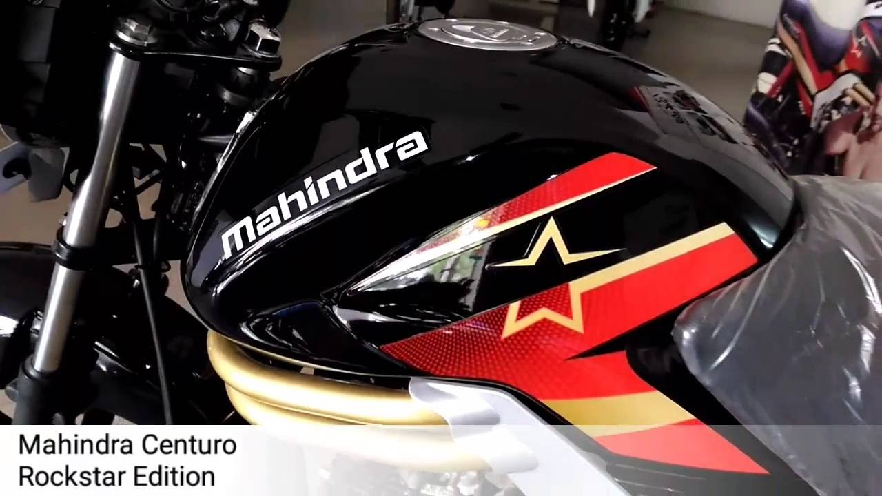 2016 Mahindra Centuro Rockstar Edition Youtube