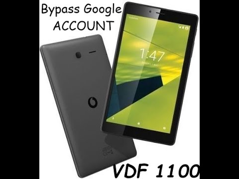 How to bypass google account on vodafone 1100