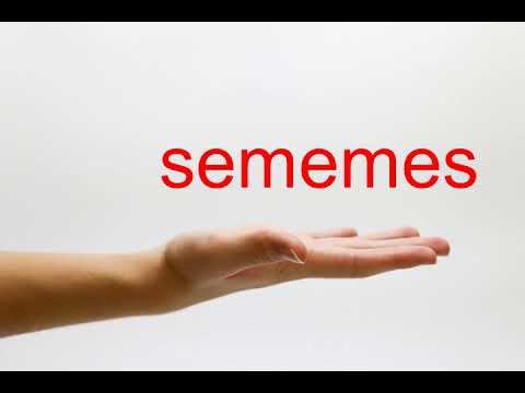 How to Pronounce sememes - American English