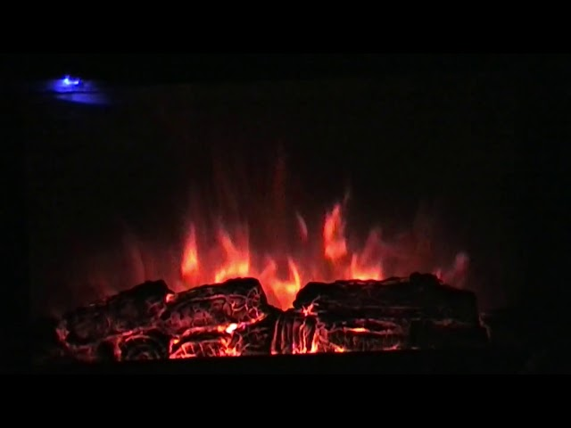 Relaxing Flame Effect Background Music Video by JTAPromos net
