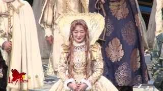 帝劇4・5月公演ミュージカル『レディ・ベス』5/24(土)昼の部の特別カーテ...