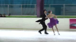3 M. EDWARDS / Z. PANG (CAN) - ISU JGP Mexico Cup 2013 Junior Ice Dance Short Dance
