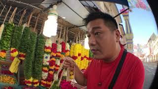 Morning life of Over Order Brett and visit to Sri Veeramakaliamman Temple (Singapore)
