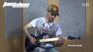 aroma apn 3 plexion british amp simulator pedal guitar pedal