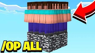 GIVING 500 FANS OP IN MINECRAFT! *BAD IDEA*