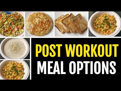 6 EASY POST WORKOUT MEAL OPTIONS!! ( No Supplements ) ����