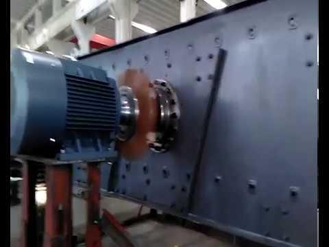 Test running video of 2YK2570 vibrating screen --Shanghai Lipu
