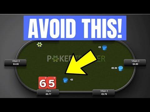 AVOID This Common Mistake In ONLINE POKER