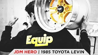 1985 TOYOTA LEVIN | TOYO TIRES [4K60]