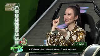 Câu hỏi khó khiến Angela Phương Trinh vò đầu bứt tóc | NHANH NHƯ CHỚP | NNC #35 | 8/12/2018