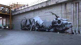 Cool Graffiti TIME LAPSE: Draw the Line