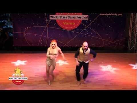 Yasin Kirman & Zeynep Uzmez , Imu Dance, Pachanga at World Stars Salsa Festival Varna 2012