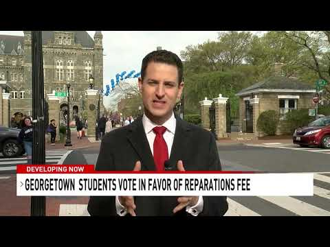 Georgetown University students pass vote for fee to fund slave reparations