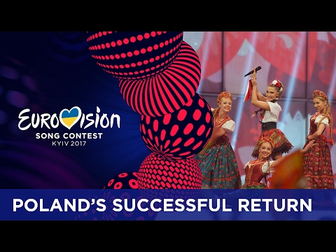 The successful return of Poland at Eurovision
