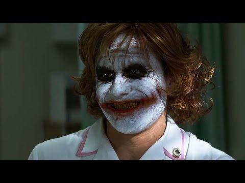 A melhor cena com o melhor Coringa Heath Ledger Explodindo o hospital