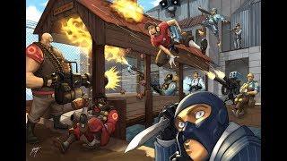 Team Fortress 2 (Небольшой забег) (Медик!!! спам тащеров)