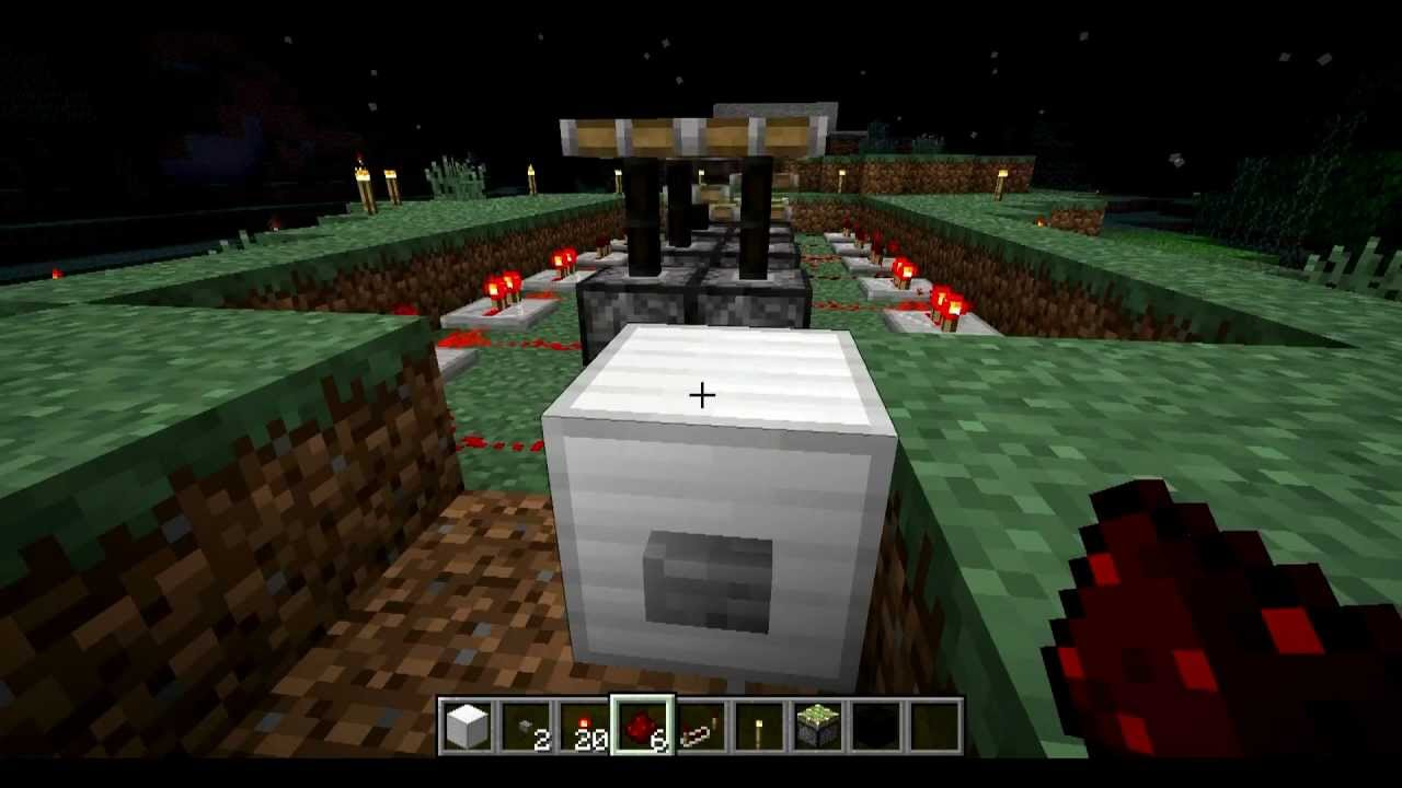 minecraft how to make an engine