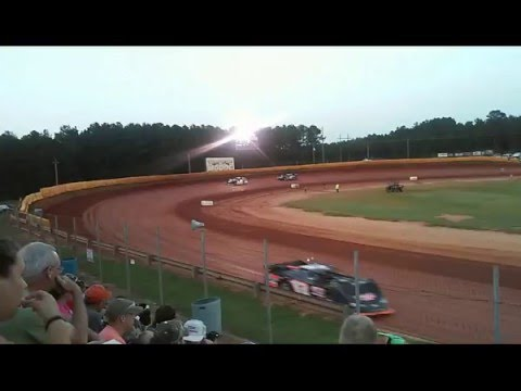 2015-2016 chris ferguson ultimate super late model series at modoc hot laps