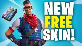 *NEW* FREE FORTNITE SKIN! Prodigy Outfit Skin Gameplay!