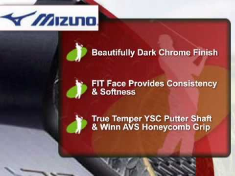 Mizuno Golf Bettinardi Black Carbon Series Putter