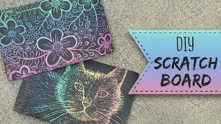 How To Make A Scratchboard | Art Projects