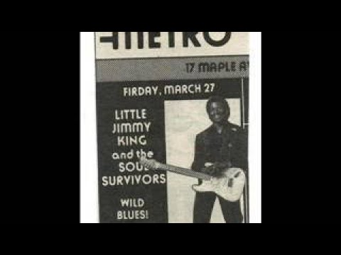Little Jimmy King and the Memphis Soul Survivors The Metro Saratoga Springs, NY. 1992