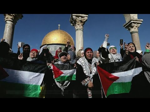 Protests, angry demonstrations in Palestinian territories