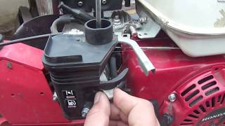 видео Электрическая часть двигателя Honda GC 135