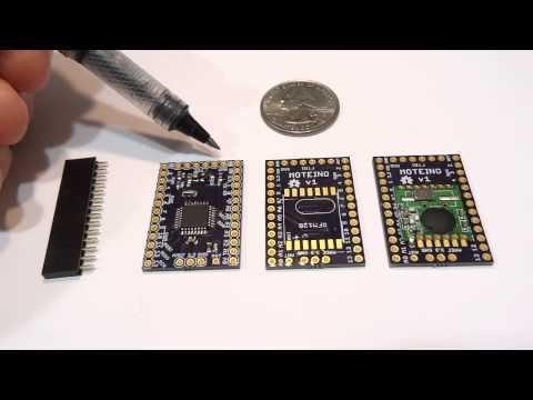 Moteino - the wireless low power low cost arduino clone
