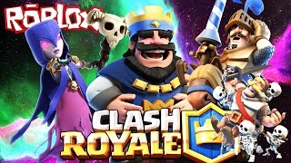 ROBLOX CLASH ROYALE TYCOON - THE FIRST STORE!!! - Spanish Gameplay