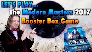 mtg lets play the modern masters 2017 booster box game for magic the gathering