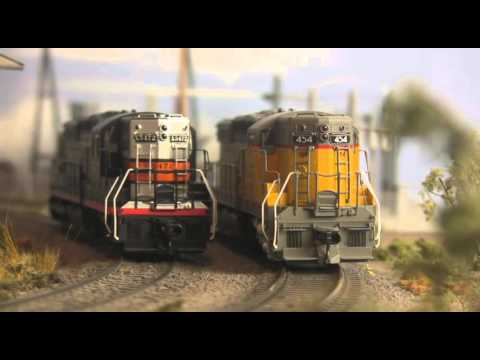 Roger's Railroad Junction January 2016 video