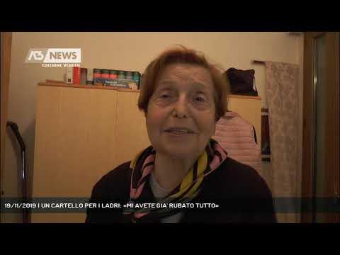 19/11/2019 | UN CARTELLO PER I LADRI: «MI AVETE G...