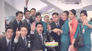 Inagurasi Batch 414 FA Garuda Indonesia Mei 2013