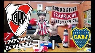 River 3 Boca 1 | Reacciones de un Hincha de River | Final Copa Libertadores 2018 Madrid