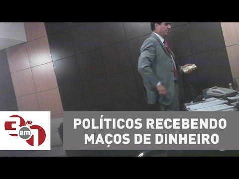 Ex-governador De MT Entrega Imagens De Políticos Recebendo Maços De Dinheiro