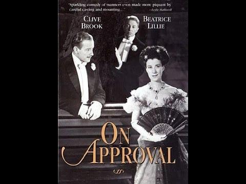 ALLA PROVA di  FREDERICK LONSDALE---(On Approval -1927) Unico nel web