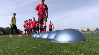 Bosu Training for football players