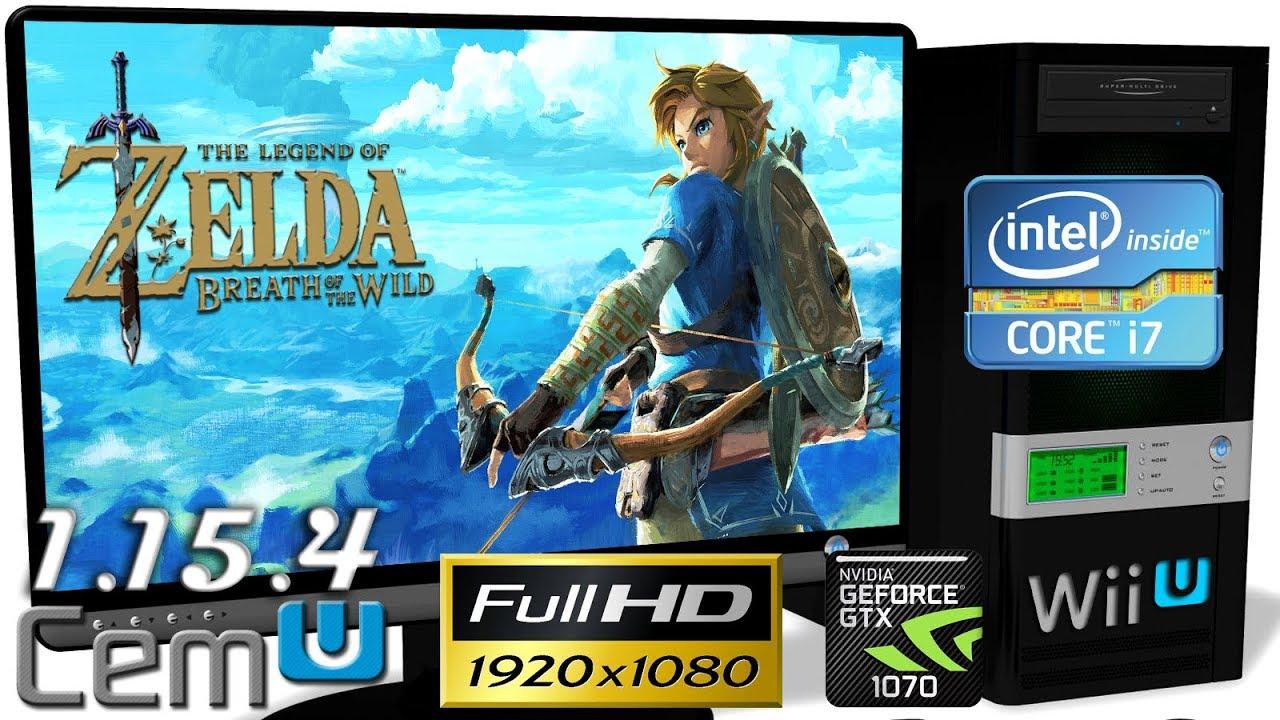 CEMU 1 15 4 [Wii U Emulator] - Zelda: Breath of the Wild [FHD-Gameplay]  FPS++ OpenGL #29