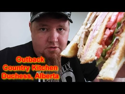 """Restaurant Review""  Outback Country Kitchen in Duchess, Alberta"