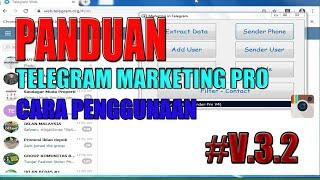 CARA MENGGUNAKAN SOFTWARE TELEGRAM MARKETING PRO screenshot 4