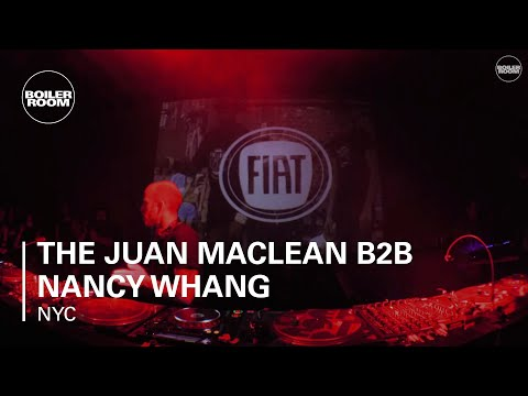 The Juan Maclean b2b Nancy Whang Boiler Room NYC x FIAT Impo