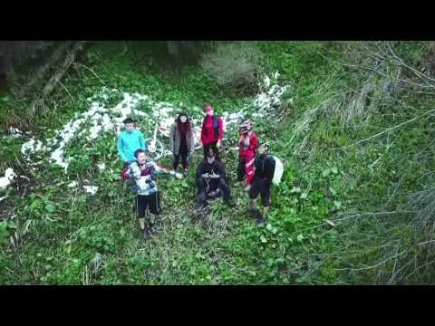 Almaty Akkain valley bike ride and nature drone video 08.05.2018